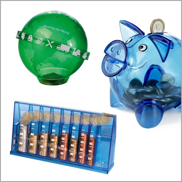 Spardosen und Sparschwein