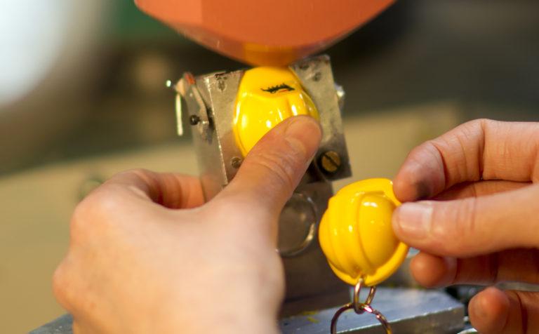 Padprint Helmet keychain