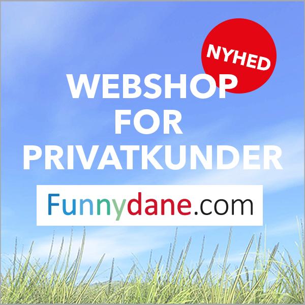 Webshop for privatkunder