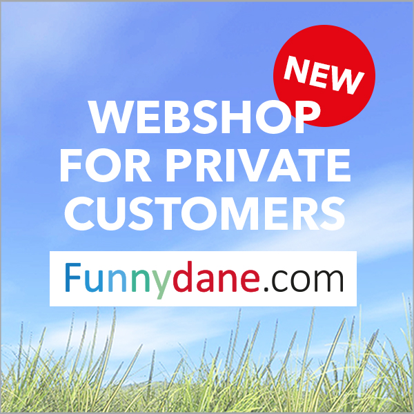 Webshop for private customers
